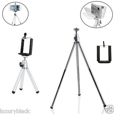 Universal Mini Extra-long Extended Tripod Compact Stand for Cell Phone