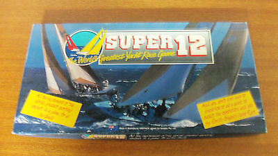Vintage 1986 Board Game - Super 12 The Worlds Greatest Yacht Race Game 100% Comp