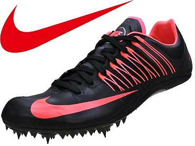 Mens-5.5 Womens-7 Unisex Nike Zoom Celar 5 Track & Field Shoes -Black/Atomic Red