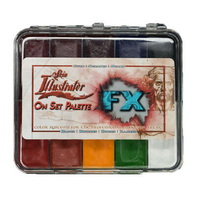Premiere Products PPI Skin Illustrator On Set FX Alcohol Activated Palette