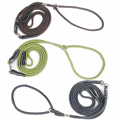 "48"" Strap Strong Nylon Rope Pet Dog Slip Training Leash Walking Lead Collar"