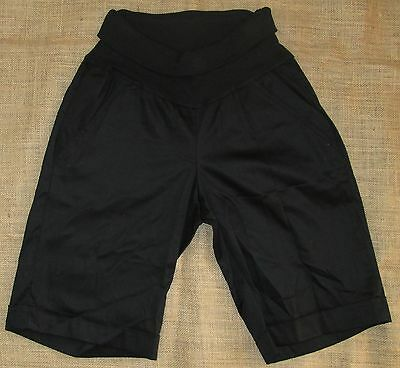 Maternity Short Black Size Knee Length New Casual Shorts Sizes 8 10 12 14 16