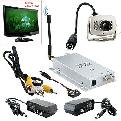 Hot Micro 1.2GHZ Wireless A/V Audio Video Camera With Tansmitter Receiver Set 66