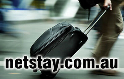 Netstay.com.au Domain Name Accommodation Holidays Flights Bus Transport Bookings