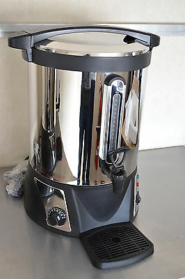 NEW 22ltr or 4.8gal Tea Urn Water Boiler Water Level & Free Drip Tray UK seller