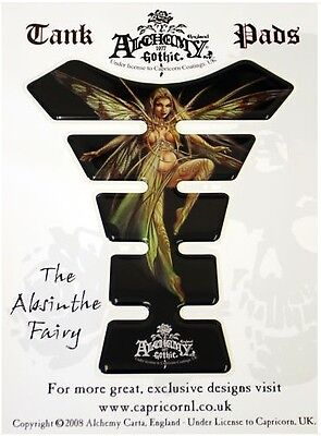 EXCLUSIVE Alchemy Absinthe Fairy Resin Domed Tank Pad
