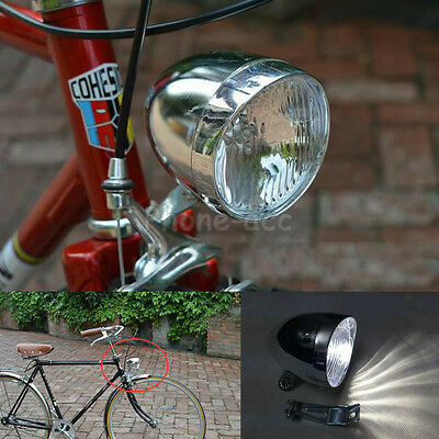 5 LED Retro Vintage Bicycle Light Bike Cycling Headlight Front Head Fog Lamp New
