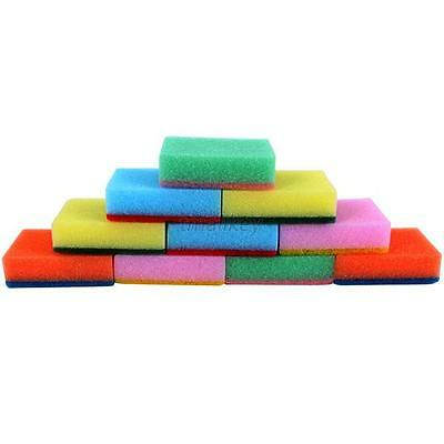 New 10PCS Cleaning Sponges Universal Sponge Brush Kitchen Cleaning Tools Set T19