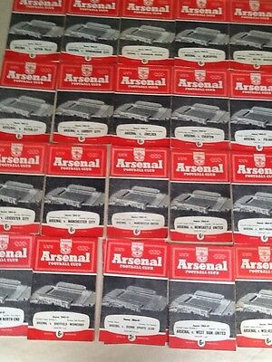Arsenal Home Programmes 1960-61~ You Choose Opponents ~ Free Post Good Condition