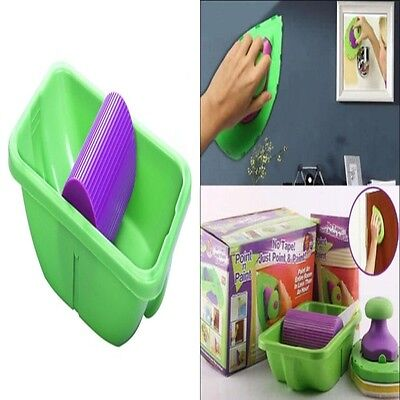 Household Paint Roller Tray Set Painting Brush Point Paint Pad Decorative Tool