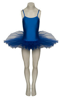 Ladies Girls Royal Blue Ballet Dance Costume Tutu Outfit All Sizes By Katz