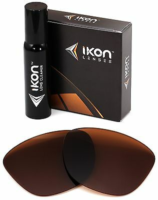 Polarized IKON Replacement Lenses For Oakley Frogskins Sunglasses Bronze