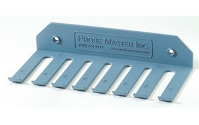 PROBEMASTER 9175 TEST LEAD HOLDER ASSORTED SIZE SLOTS screws or adhesive strips