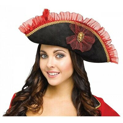 Fancy Pirate Hat Costume Accessory Adult Halloween