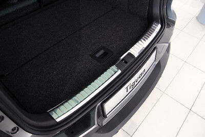 Interior Stainless Steel Boot Edge Protector for VW Tiguan 2007-2016