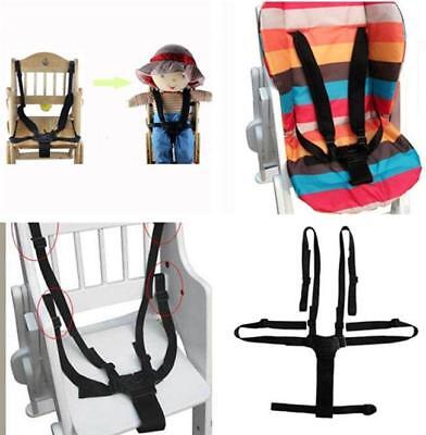 Baby 5 Point Harness Safety Seat Belts Suit Stroller High Chair Pram Buggy - CB