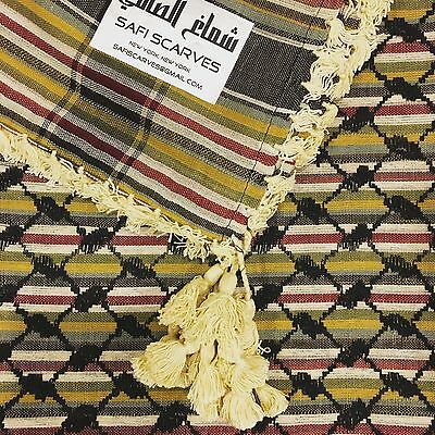 Scarf Keffiyeh Shemagh Arab Original Authentic Quality Palestine Yemen Tactical