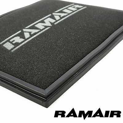 Ramair Foam Panel Air Filter Performance Replacement fits Vauxhall Saab