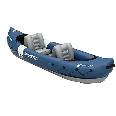 Kayak Hinchable Riviera 2P - Sevylor