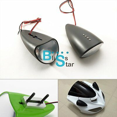Bloody Red Custom LED Mirrors Turn Signals Fit Yamaha YZF-R6 03-05 R6S 06-09 BS1