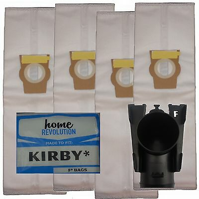 HEPA Cloth F STYLE Vacuum Bags for Kirby Vacuum Cleaner Avalir Sentria 204808