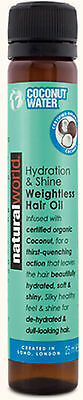Natural World Coconut Water Hair Treatment Oil 25ml-Eliminates Frizz,