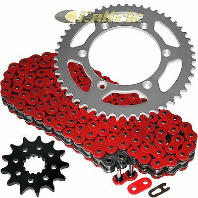 RED O-Ring Drive Chain & Sprockets Kit Fits YAMAHA YZ450F 2007-2009 2014 2015