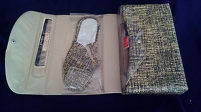 Vintage mens travel vanity case STRATTON Rainstoppers P/L NSW slippers towels