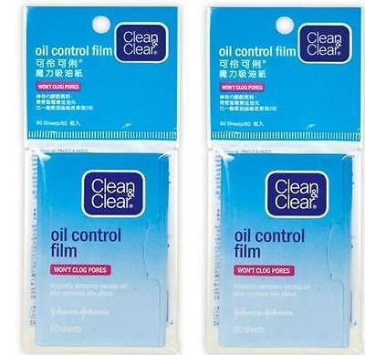 Clean & and Clear Oil Control Film Blotting Paper Face 2 Pieces