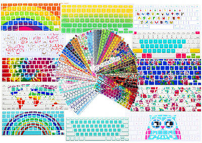 """Stylish Decal Print Soft Silicone Keyboard Cover for Macbook 11"""" 13"""" 15"""" inch"""