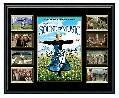 The Sound Of Music Cast Signed Limited Edition Framed Memorabilia