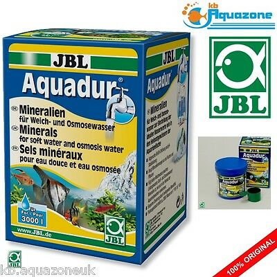 JBL Aquadur 250g * Minerals for soft water and osmosis water * NEW