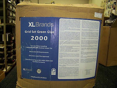 XL Brands Grid Set Green Glue 2000 4 Gallons New