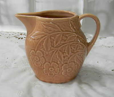 Vintage Pottery Usa No.32C Small Terracotta Pitcher