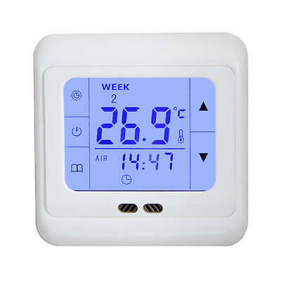 Floureon Digital Thermostat Fußbodenheizung LCD Touch-Display