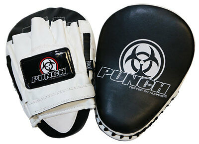Punch Focus Boxing Pad / Mitts - MMA, Boxing, Muay Thai, Savate