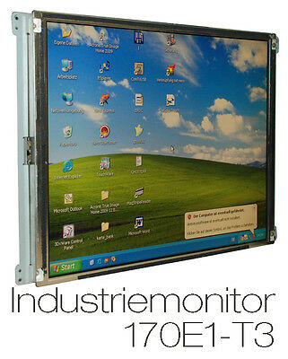 """43cm 17"""" TFT INSTALLATION DISPLAY INDUSTRY MONITOR CONTINUOUS OPERATION ChiLin"""