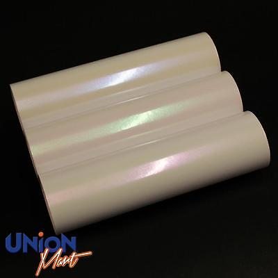 Gloss Pearlescent Pearl Ivory White to Blue/Purple/Green Vinyl Car Wrap Sticker