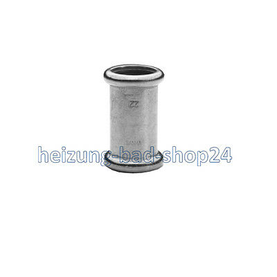 Sanha Copper Press Fitting Sleeve, No. 6270, Press Fitting for Copper Pipes