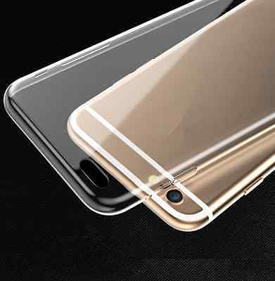 For iPhone 6 PLUS Ultra Thin Transparent Crystal Clear Soft TPU Case Skin Cover