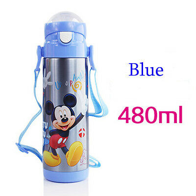 Insulation Thermos Water Bottle Mug Vacuum Flask kids Stainless Steel Kettle Cup