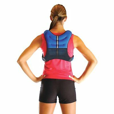 Women Workout Weighted Vest Strength Chin Push Up Trainer Velcro Belt 12 LBS NEW