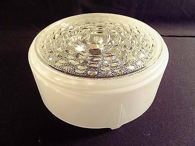 Art Deco Round Frosted Glass Lamp Shade Ceiling Light Cover