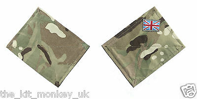 British Army MTP Blanking Patch Panels for UBACS Shirt Smock Jacket 1 or pair