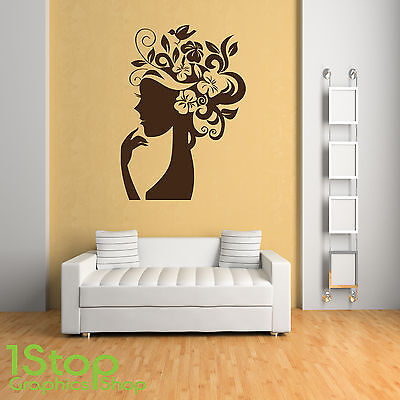 BEDROOM LOUNGE WALL ART DECAL X167 WHEN YOU LOVE WALL STICKER QUOTE
