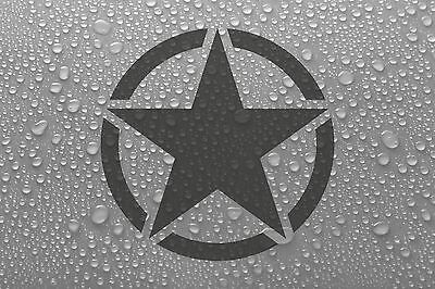 US American Army Star military badge - vinyl decal sticker - WS1045