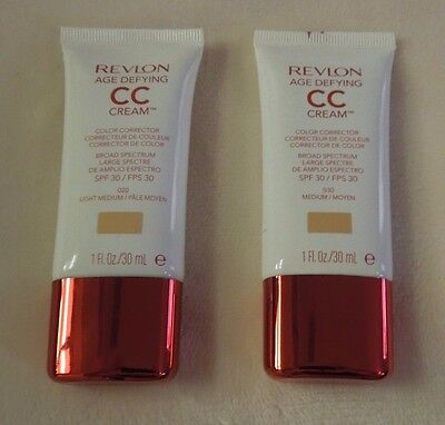 Revlon Age Defying CC Cream Color Corrector ~ Choose From All 4 Shades ~ New