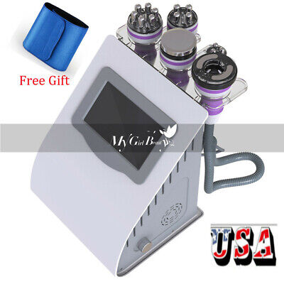 5 IN 1 Tripolar RF Face Body Contour Ultrasonic Cavitation Slimming Machine Fat