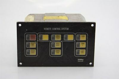 MTU Elektronik Diesel Maritime Engine Remote Local Control Unit 5265309362