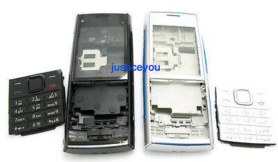 For Nokia X2 X2-00 Full housing body cover case keypad + battery door replace